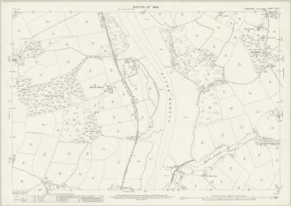 Hampshire and Isle of Wight XC.10 (includes: Cowes; Newport) - 25 Inch Map