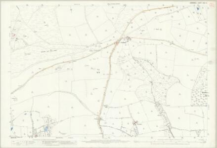 Cornwall XLIX.5 (includes: Ladock; Newlyn; St Enoder; St Erme) - 25 Inch Map