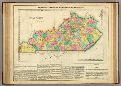 Map Of Kentucky.
