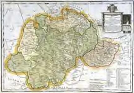 Mapa de la provincia y obispado de Cuenca