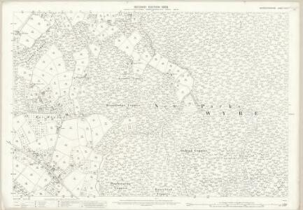 Worcestershire XIII.3 (includes: Rock) - 25 Inch Map