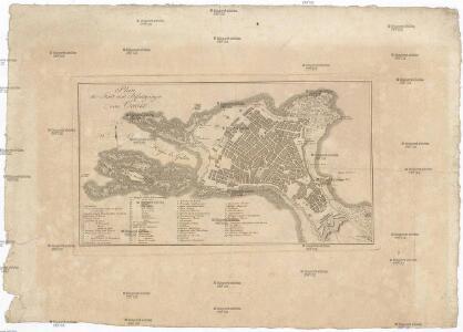 Plan der Stadt und Befestigungen von Cadix