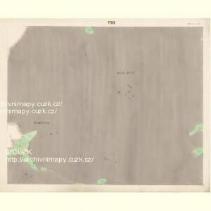 Althütten - c7262-1-007 - Kaiserpflichtexemplar der Landkarten des stabilen Katasters