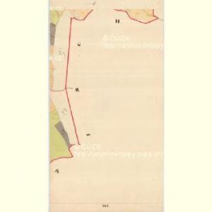 Krzizowitz - c3672-1-012 - Kaiserpflichtexemplar der Landkarten des stabilen Katasters