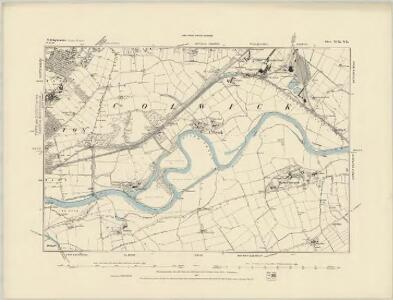 Nottinghamshire XLII.NW - OS Six-Inch Map