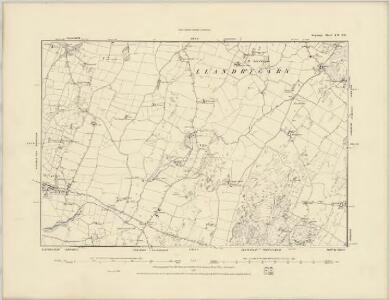 Monmouthshire XXXVIII - OS Six-Inch Map