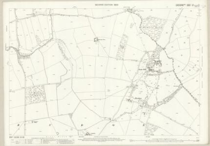 Staffordshire LXI.10 (includes: Pattingham; Rudge; Worfield) - 25 Inch Map