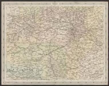 Strassen- und Eisenbahnkarte des oesterreichischen Kaiserthumes