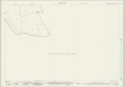 Huntingdonshire XXV.9 (includes: Eaton Socon; Great Staughton) - 25 Inch Map