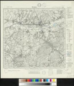 Messtischblatt 2580 : Menden, 1931 Menden