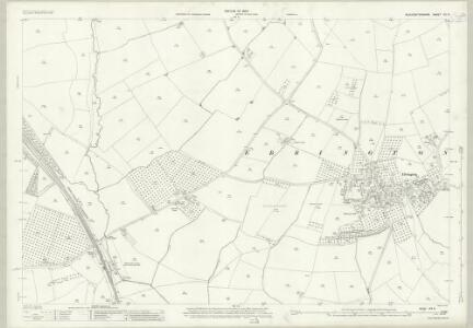 Gloucestershire VIII.9 (includes: Chipping Campden; Ebrington; Mickleton) - 25 Inch Map