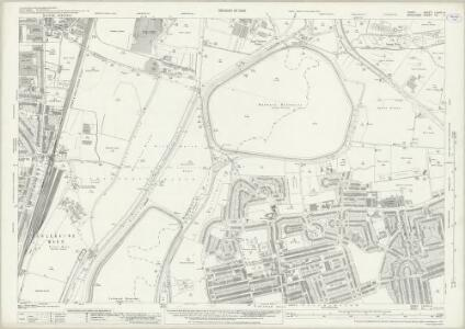 Essex (New Series 1913-) n LXXVII.4 (includes: Chingford; Edmonton All Saints; Tottenham; Walthamstow) - 25 Inch Map