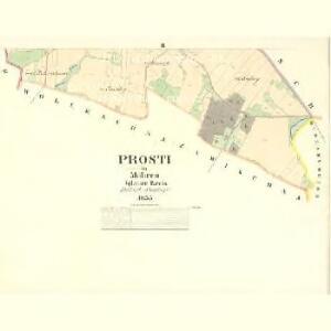 Prosti - m2429-1-002 - Kaiserpflichtexemplar der Landkarten des stabilen Katasters