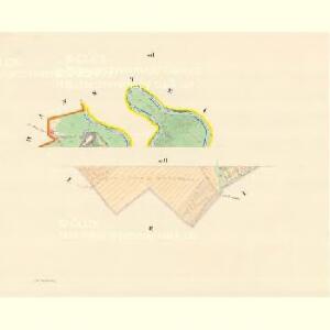 Daubrawitz (Daubrawice) - m0563-1-003 - Kaiserpflichtexemplar der Landkarten des stabilen Katasters