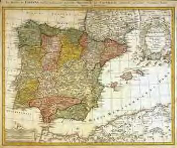 Regnorum Hispaniæ et Portugalliæ tabula generalis de l'Isliana