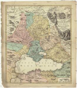 Russiae magnae Pontus Euxinus seu Mare Nigrum et Tartaria minor
