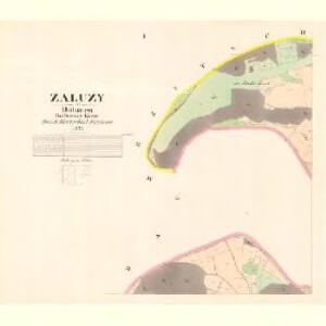 Zalužy - c9124-1-001 - Kaiserpflichtexemplar der Landkarten des stabilen Katasters
