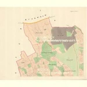 Watzenovitz (Wacenowic) - m3248-1-001 - Kaiserpflichtexemplar der Landkarten des stabilen Katasters