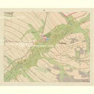 Lobendau - c4186-1-005 - Kaiserpflichtexemplar der Landkarten des stabilen Katasters