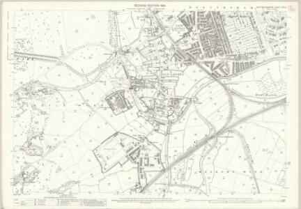 Nottinghamshire XLII.5 (includes: Nottingham) - 25 Inch Map