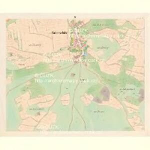 Sobieschitz (Soběssicze) - c7121-1-003 - Kaiserpflichtexemplar der Landkarten des stabilen Katasters
