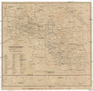Karte des Sudeten zum Gebrauch für Reisende