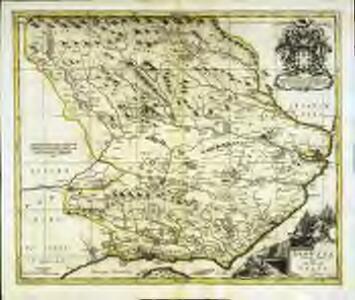 Angusia provincia scotiæ sive the shire of Angus