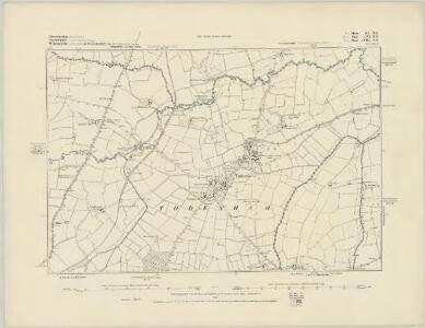Gloucestershire XV.SW - OS Six-Inch Map