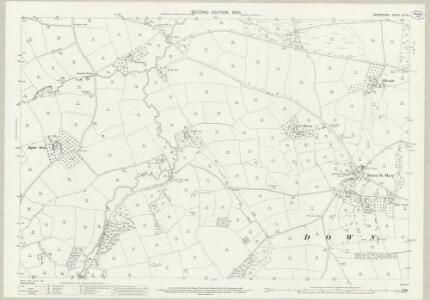 Devon LIV.10 (includes: Down St Mary; Zeal Monachorum) - 25 Inch Map