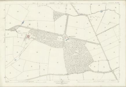 Northamptonshire XIX.7 (includes: Ashton; Lutton; Polebrook; Tansor; Warmington) - 25 Inch Map