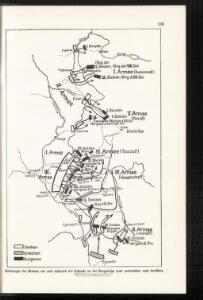 Stellungen der Armeen vor und während der Schlacht an der Bregalnica (und unmittelbar nach derselben)
