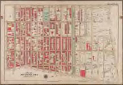 Plate 26: [Bounded by Kingston Avenue, Malbone Street, Malbone Street, Bedford Avenue, Herkimer Street and Atlantic Avenue.]; Atlas of the borough of Brooklyn, city of New York: from actual surveys and official plans by George W. and Walter S. Bromley.