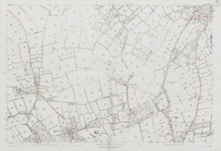 Somerset XXVI.12 (includes: Chapel Allerton; Weare; Wedmore) - 25 Inch Map