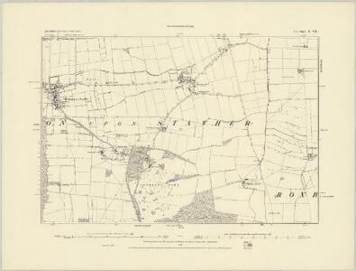 Lincolnshire X.NW - OS Six-Inch Map