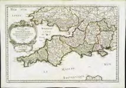 Provinces d'West; autrefois royaume d'Westsex