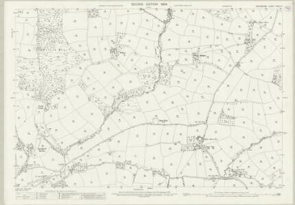 Devon XXXIII.10 (includes: Creacombe; Rackenford; Witheridge) - 25 Inch Map