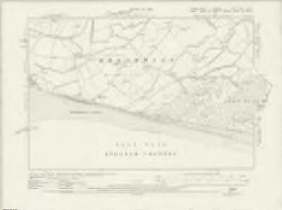 Sussex XLVI.SW & SE - OS Six-Inch Map