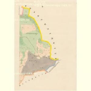 Wollschan (Wolssany) - c5458-1-002 - Kaiserpflichtexemplar der Landkarten des stabilen Katasters