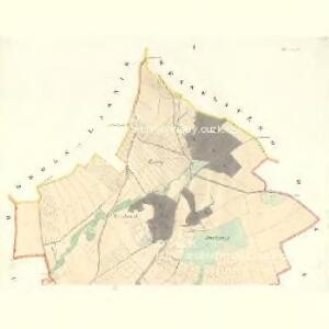 Radwanitz - m2535-1-001 - Kaiserpflichtexemplar der Landkarten des stabilen Katasters