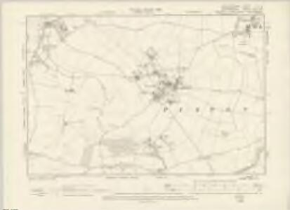 Hertfordshire VI.SE - OS Six-Inch Map