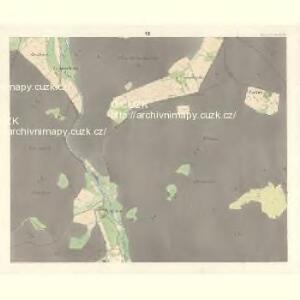 Reinochowitz - m2544-1-010 - Kaiserpflichtexemplar der Landkarten des stabilen Katasters