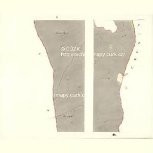 Neueigen (Nowawes) - m2042-1-006 - Kaiserpflichtexemplar der Landkarten des stabilen Katasters