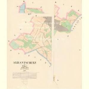 Skrantschitz - c6954-1-001 - Kaiserpflichtexemplar der Landkarten des stabilen Katasters