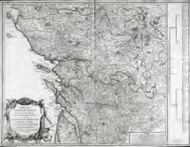 Carte des côtes de France depuis les confins de la Bretagne, jusques à l'embouchure de la Gironde