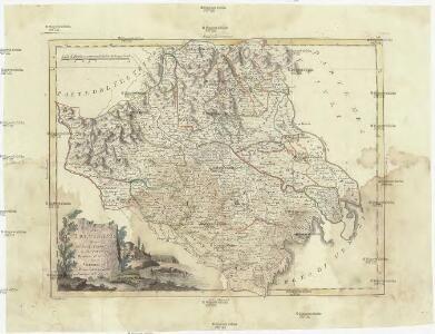 Il Trevisiano diviso ne suoi territori e distretti di nuova projezione