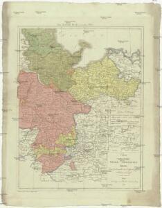 Charte von dem ehmaligen Nieder-Saechsischen Kreise