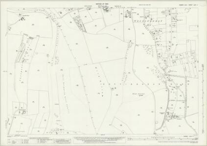 Sussex LXVI.11 (includes: Brighton) - 25 Inch Map