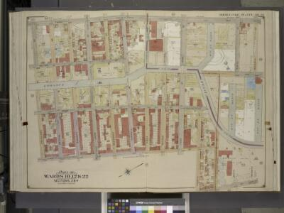 Brooklyn, Vol. 1, Double Page Plate No. 23; Part of   Wards 10, 12 & 22, Section 2 & 4; [Map bounded by 3rd Ave., 7th St., Smith St.;  Including  4th St., Hoyt St., Douglass St.]