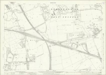Middlesex XVI.5 (includes: Acton; Ealing St Mary; Wembley; Willesden) - 25 Inch Map