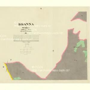 Branna - c0470-1-005 - Kaiserpflichtexemplar der Landkarten des stabilen Katasters